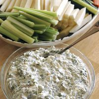 Spinach Dip (Made with Knorr vegetable recipe mix) by Knorr Soup Package