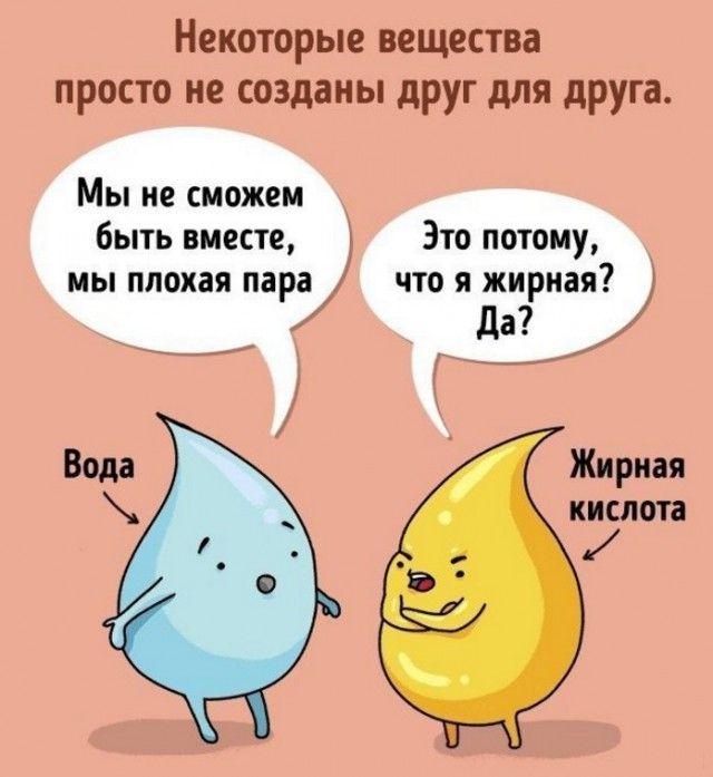 Картинки смешные по биологии