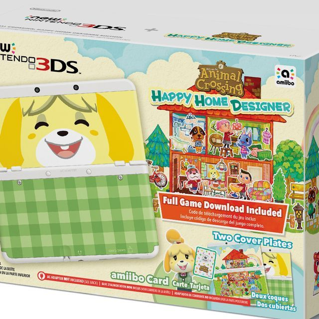 Nintendo is expanding its 3DS lineup with a New Nintendo 3DS model with improved controls and 3-D face-tracking, due Sept. 25, with the new 'Animal Crossing: Happy Home Designer' game.