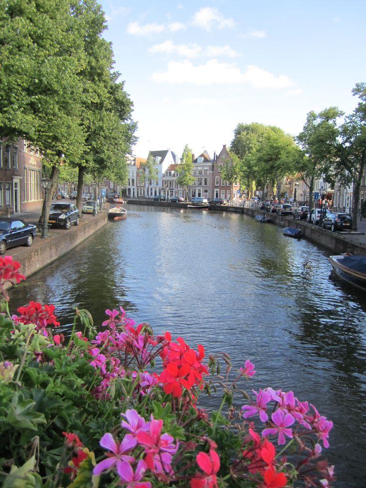 Leiden, Netherlands canals