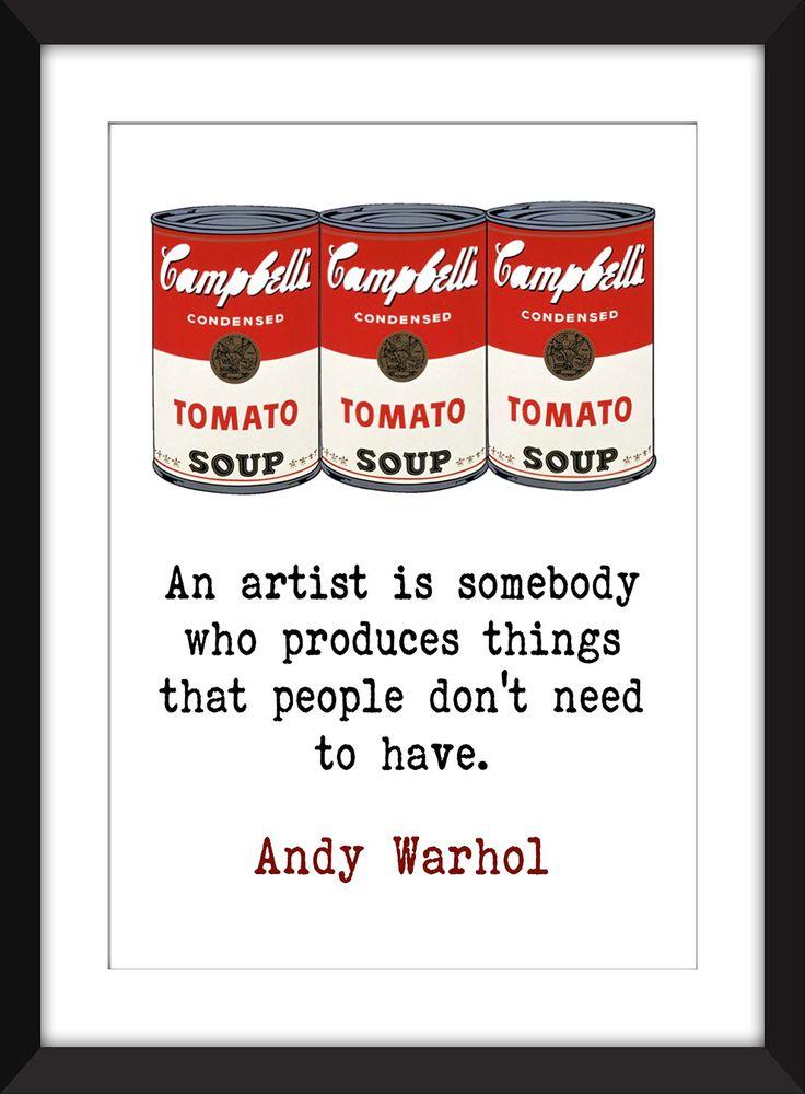 62 best Andy Warholu0027s Campbellu0027s Artwork images on Pinterest - admiration letter