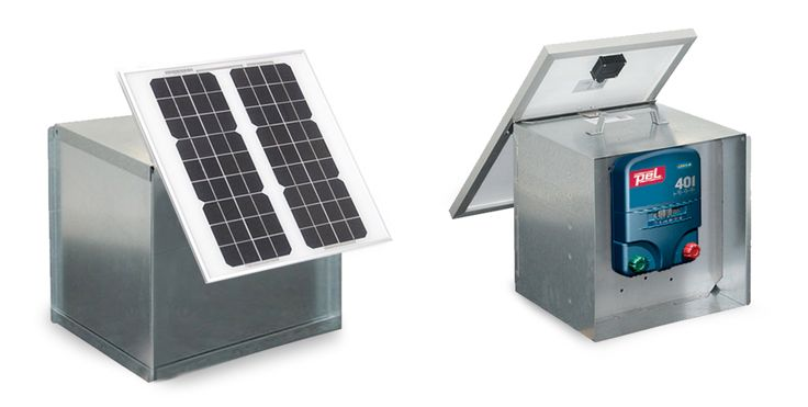 PEL 401 Solar Energiser Kit, from Ritchey #electricfencing #electric #fencing #fence