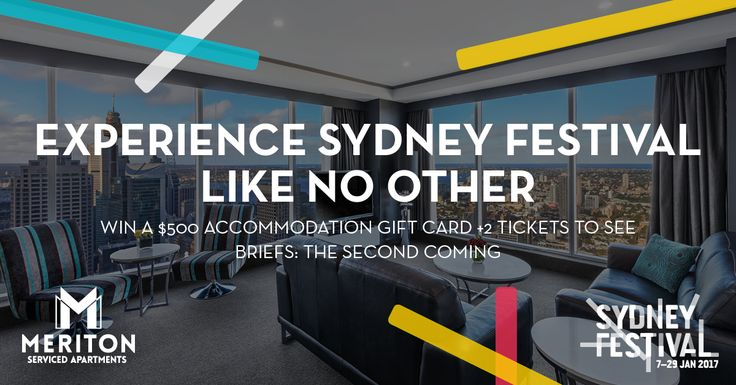 Win a Luxury Sydney Festival Experience https://www.meritonapartments.com.au/blog/giveaways/sydney-festival-experience/?lucky=3489