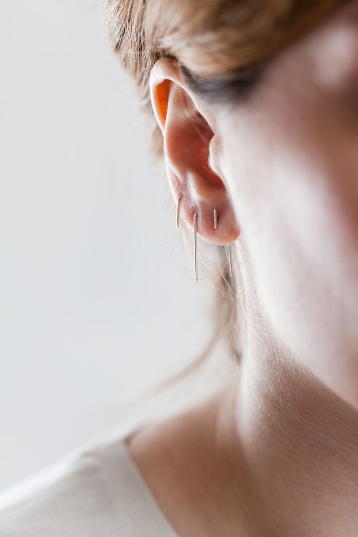 earrings - back to basic - Anna Lawska Jewellery / photo - PION