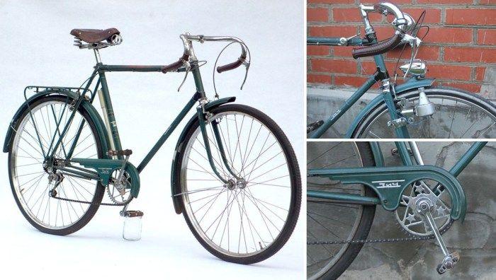Автомобили: 8 легендарных советских велосипедов, на которых катался и стар, и мал http://kleinburd.ru/news/avtomobili-8-legendarnyx-sovetskix-velosipedov-na-kotoryx-katalsya-i-star-i-mal/  8 легендарных советских велосипедов, на которых катался и стар, и мал В Советском Союзе велосипедов выпускалось великое множество. В некоторых гаражах и сейчас пылятся раритетные вело-экземпляры. Но время идёт, и многие предпочитают сегодня импортные велосипеды — трековые, горные, спортивные — и позабыли о…