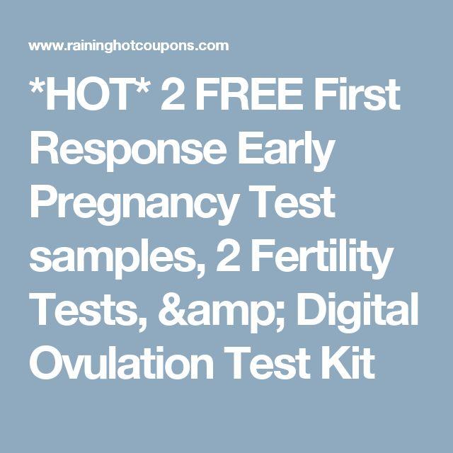 first response digital ovulation test instructions