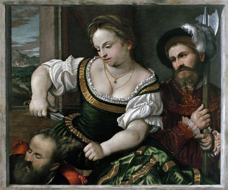 Girolamo Romani detto Romanino, Sansone e Dalila