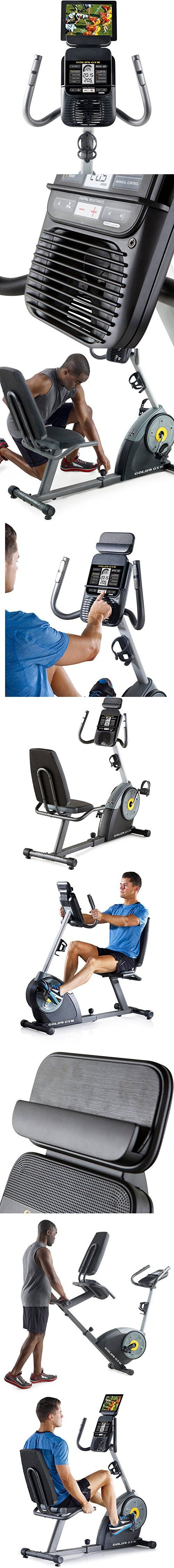 Cycle Trainer Exercise Bike with iFit Bluetooth Smart Technology Magnetic Resistance Cycling Bike Health and Fitness, Cycling Equipment, Cardio Training Home Workout Ergonomic pedals adjustable Straps
