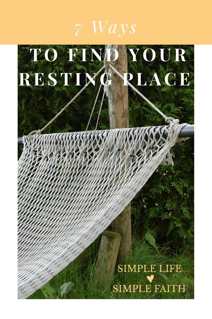 ways to find your resting place gallagher farm and faith simple