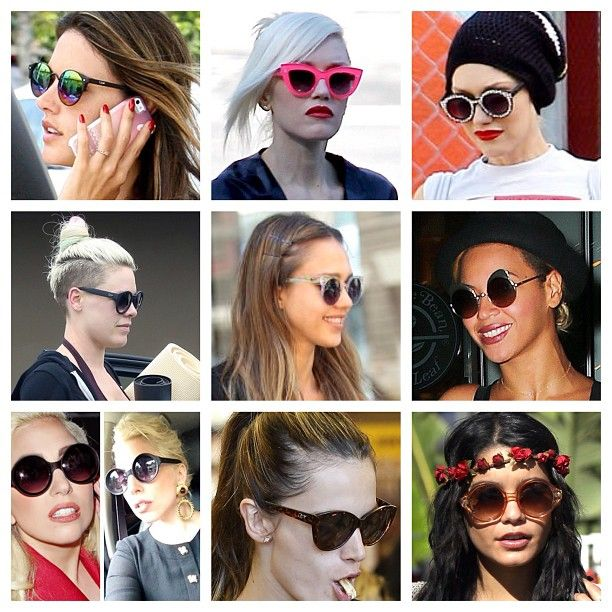 Just a few days left to get 20% off everything on our online store! Coupon code: doublevision. #gwenstefani #pink #jessicaalba #beyonce #ladygaga #alessandra #vanessahudgens #celebs #california #sunglasses #love