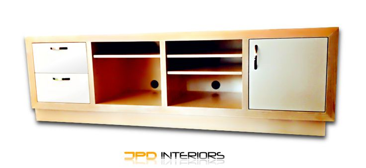 American White Ash Entertainment unit, handcrafted to suit your style