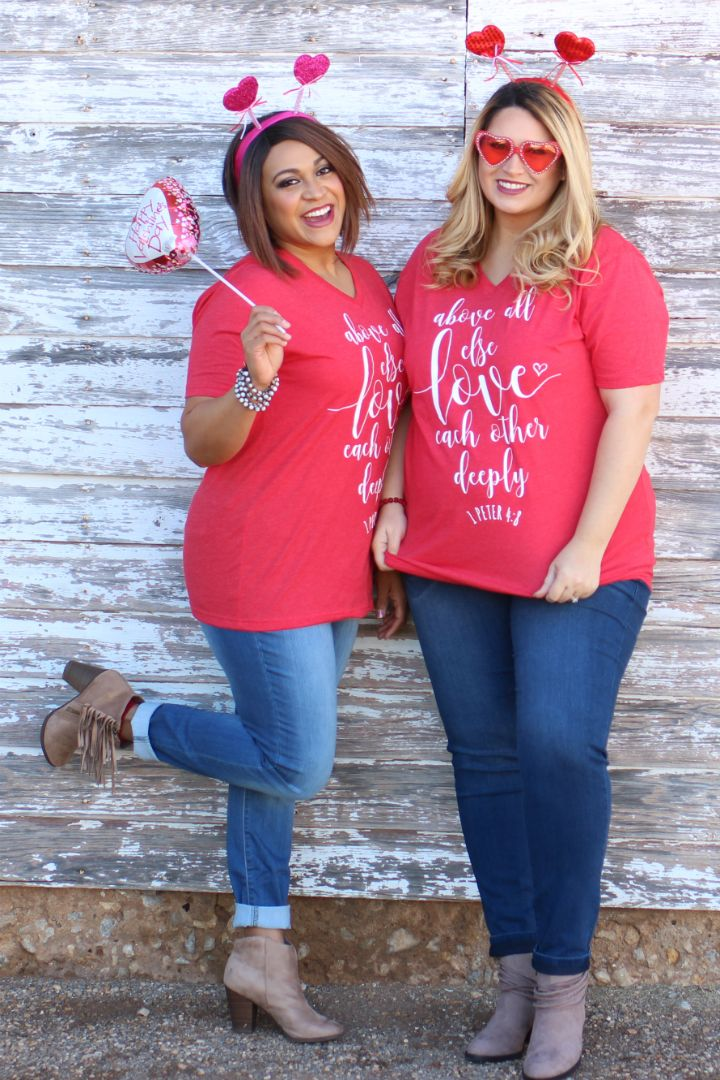 One Faith Boutique - Above All Else Love Each Other Deeply Graphic Tee ~ February ~ Sizes 4-16, $20.00 (https://www.onefaithboutique.com/12-months-of-ministry/above-all-else-love-each-other-deeply-graphic-tee-february-sizes-4-16/)
