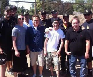 "To celebrate 20 years of ""The Sandlot,"" writer/director David M. Evans is on a ballpark tour around the country with some of the movie's cast. They stopped by the original ""Sandlot"" filming location Friday for a celebration with fans."