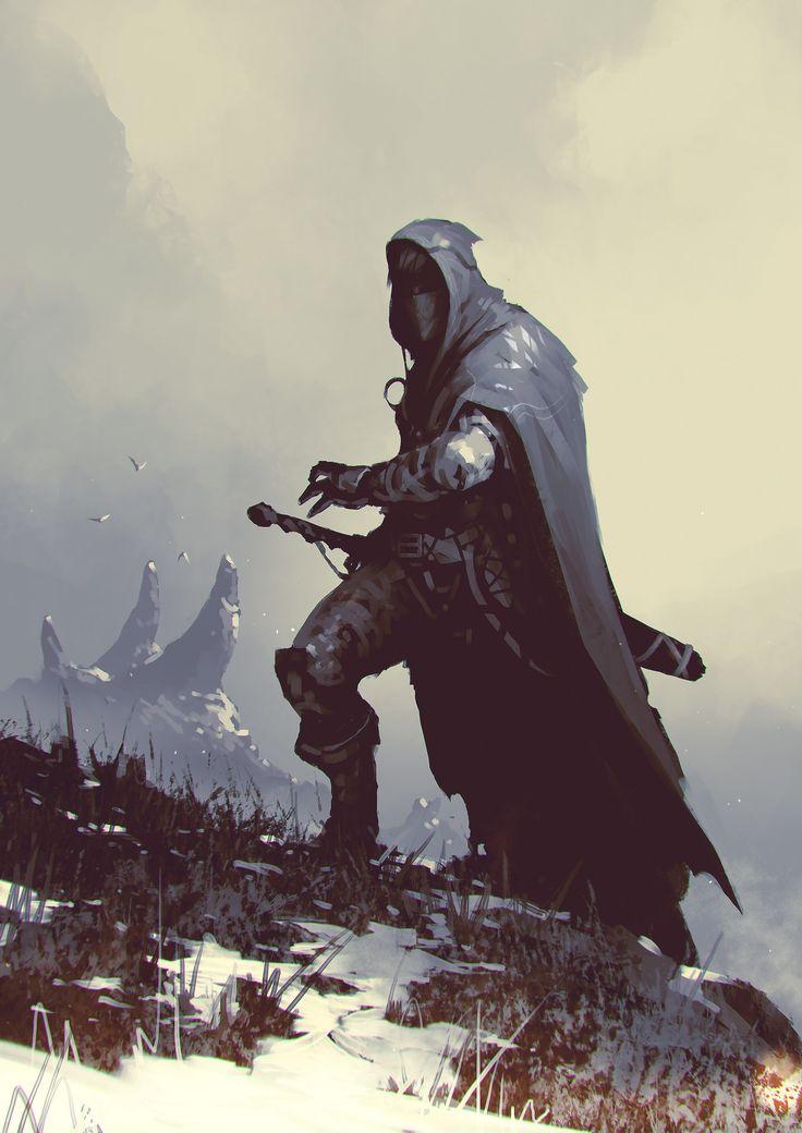 ArtStation - -Geralt of Rivia-, ömer tunç