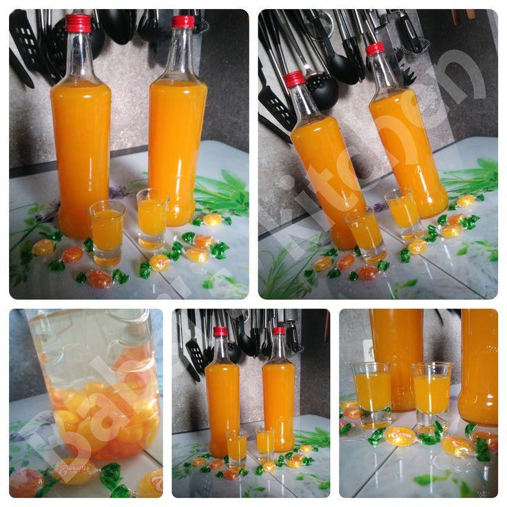 350 ml weißer Rum   200 g Nimm 2 Bonbons (Orangen- und Zitronengeschmack)   1 l Maracujasaft     Zuerst die Bonbons in den Rum gebe...