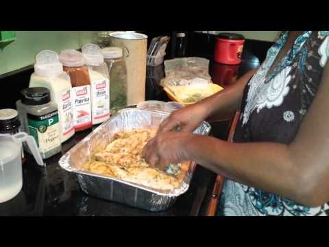 ▶ Auntie Fee's Turkey Wings - YouTube... made this with a whole cut up chicken, was awesome!
