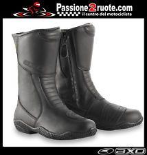 botas bota moto scooter atv quad mujer señora Axo funny negro black boots