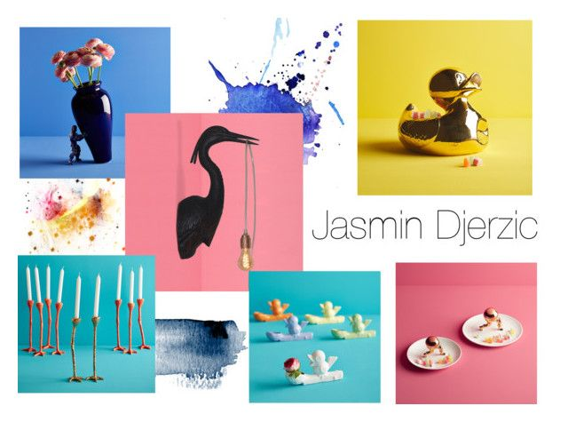 """Jasmin Djerzic- playful design"" by crowdyhouse ❤ liked on Polyvore featuring interior, interiors, interior design, home, home decor and interior decorating"