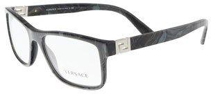 Versace Ve3211 5145 Grey Marble Rectangle Sunglasses.