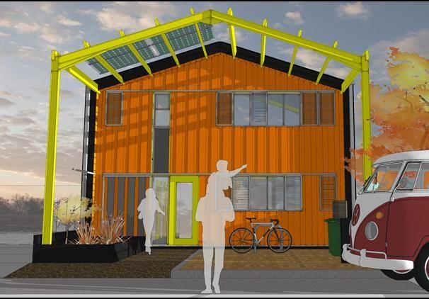 £41,000 self build house. Barnhaus by Ed Green