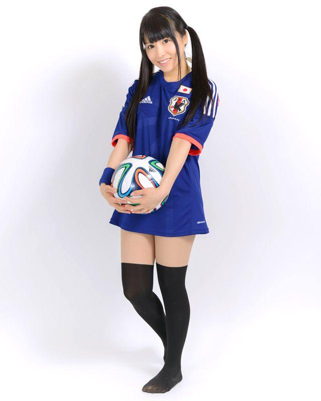 写真:manyamiさん サッカー日本代表ユニフォーム