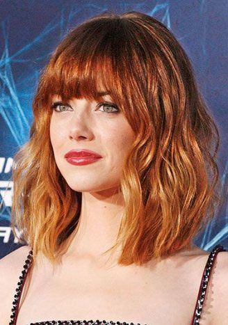Super hairstyles long face shape emma stone ideas