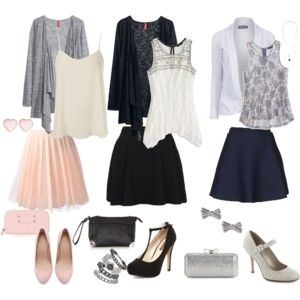 Three Outfits for Apple Body Shape