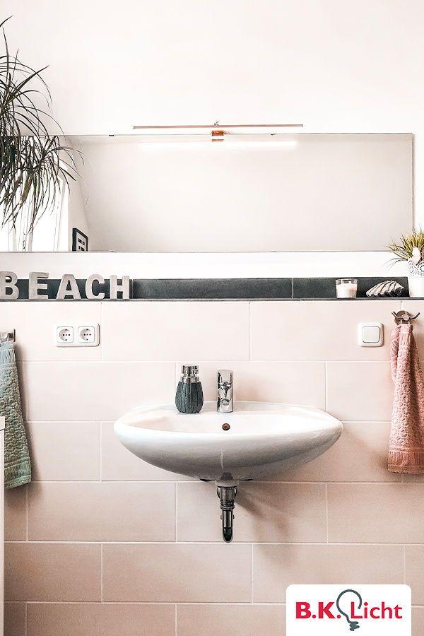 Mit Der Spiegelleuchte Erzeugst Du In Deinem Badezimmer Eine
