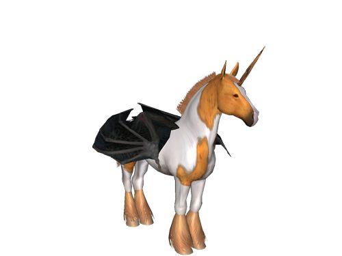 [Horse Game: Zari the level 166 Destral Mare]