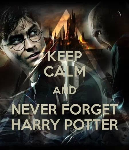 Never forget Harry Potter