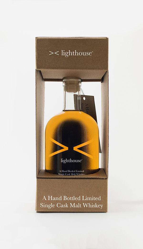 lighthouse / Single Cask Malt Whiskey on Behance
