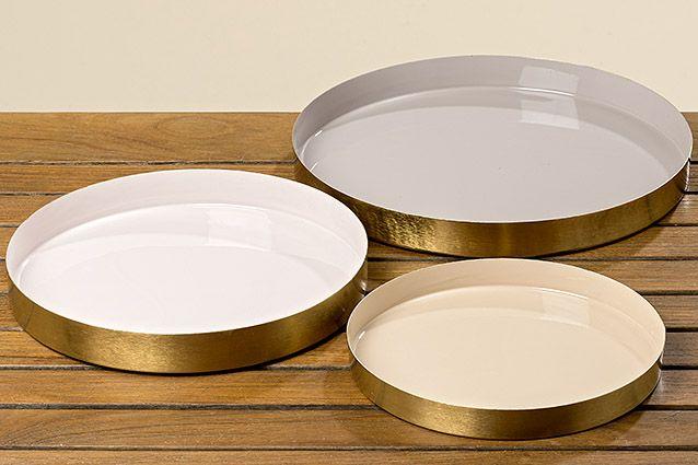 #dekoration #teller #aufbewahrung #gold #farbe #modern #romance #home