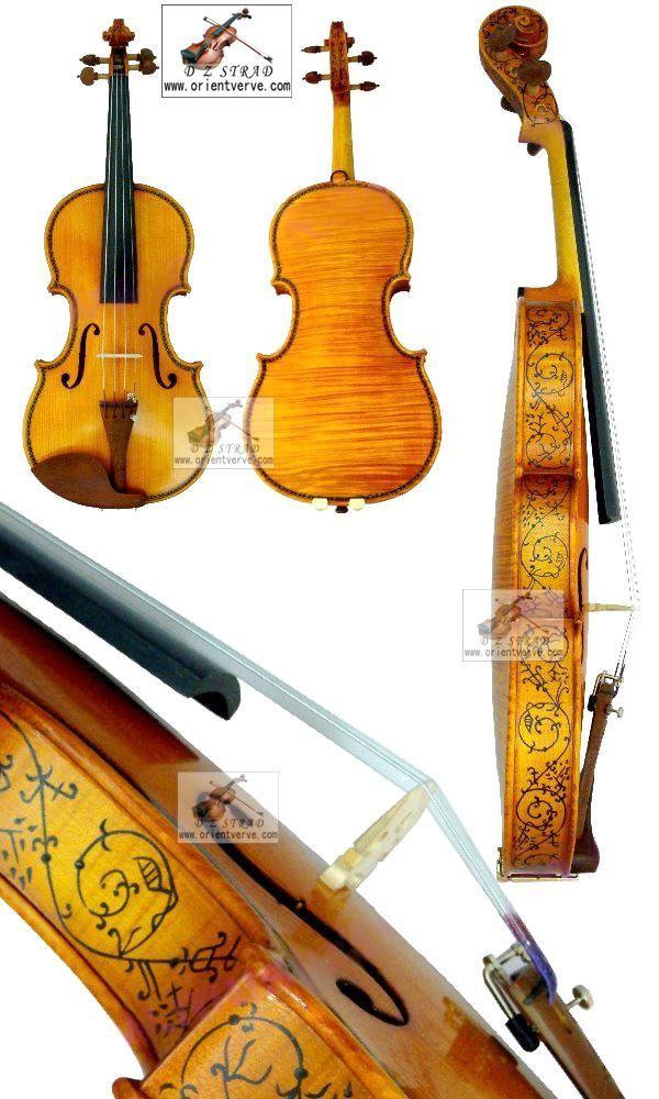 D Z Strad Violin Model 402 Hellier Stradivarius Masterpiece Copy Violin Violin Makers Masterpiece