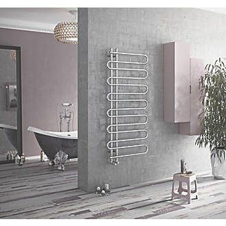Ximax C8 Designer Towel Radiator 1400 x 600mm Chrome ...
