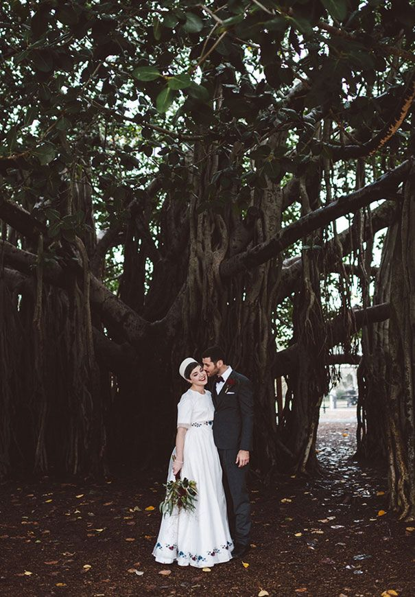 ELLENE + JAMES #realwedding #QLD #retro #vintage #DIY #flowers #red #white #photography #cake #reception #ceremony #tradition #marriage