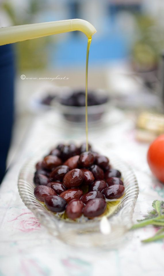 Delicious Black Olives  with Extra Virgin Olive by TheSpartanTable, €10.00