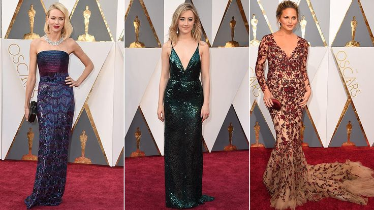 Oscars red carpet fashion trends and hits and misses   abc7.com