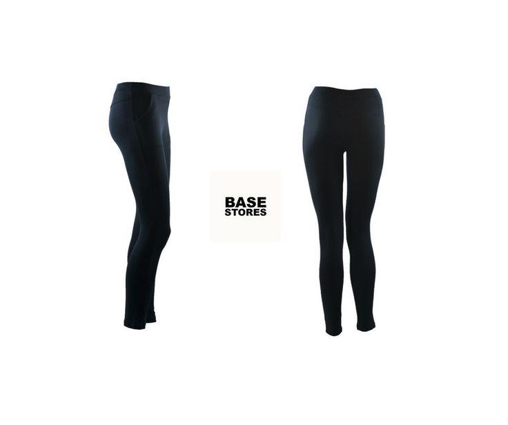 Μαύρο κολάν με τσέπες #denim #tights