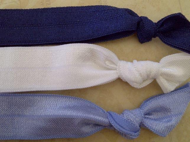Blue, Navy & White 3 Pack. $3