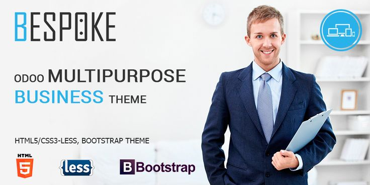 BeSpoke Odoo theme is one of the best #business #themes for #Odoo. It is full of features and provides excellent homepage.