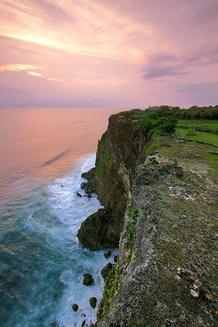 Living on the edge - South Cliff, Uluwatu, Bali, Indonesia Bali Floating Leaf Eco-Retreat. http://balifloatingleaf.com/