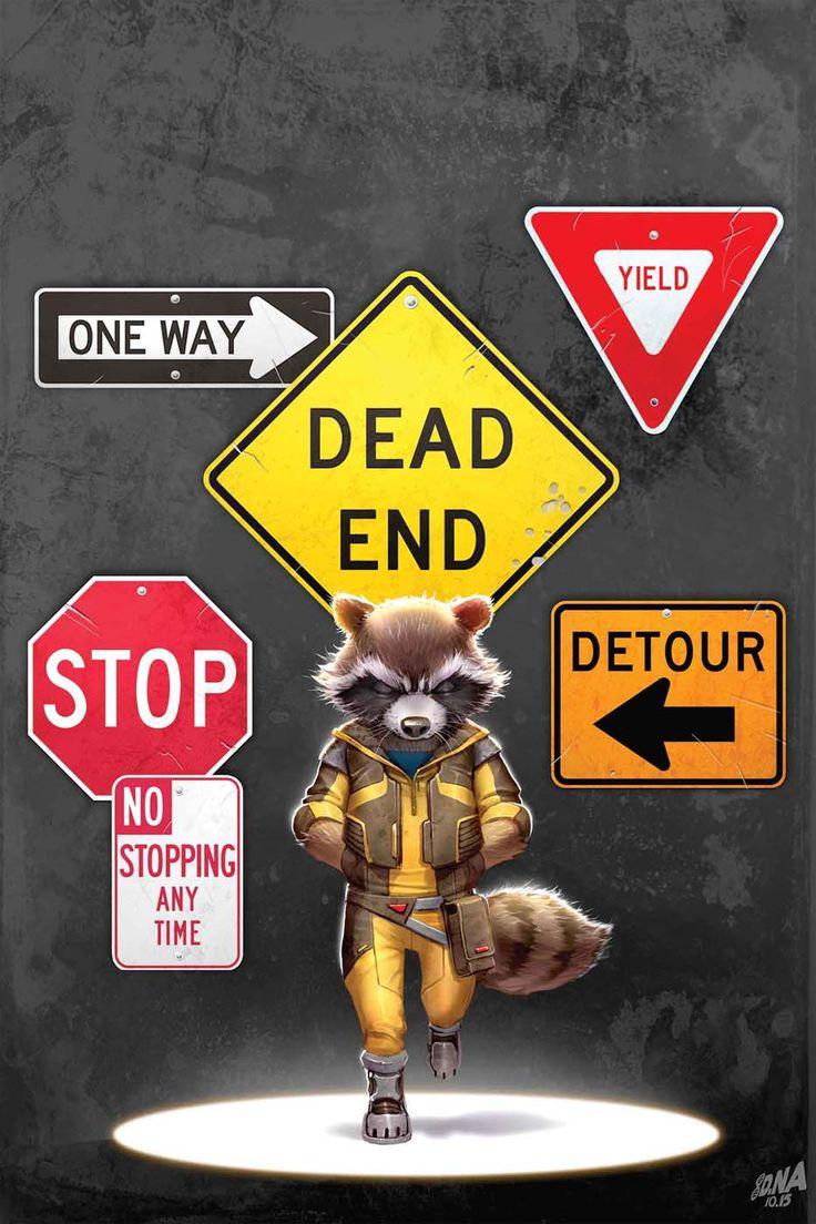 Rocket Raccoon #2 - Cover by David Nakayama