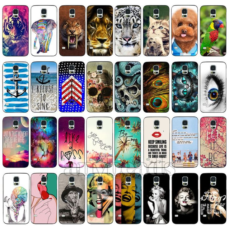Fashion Cool Punk Design Phone Hard Back Skin Case Cover for Samsung S3 S4 S5 #UnbrandedGeneric
