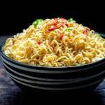 The Savory Science of Instant Noodles  Figure 1 compares the daily nutrition intake as recommended by The National Institute of Health to the nutritional content in one package of instant noodles (Figure 1) [5]. Instant noodles account for too much of daily sodium intake, and not enough for ...