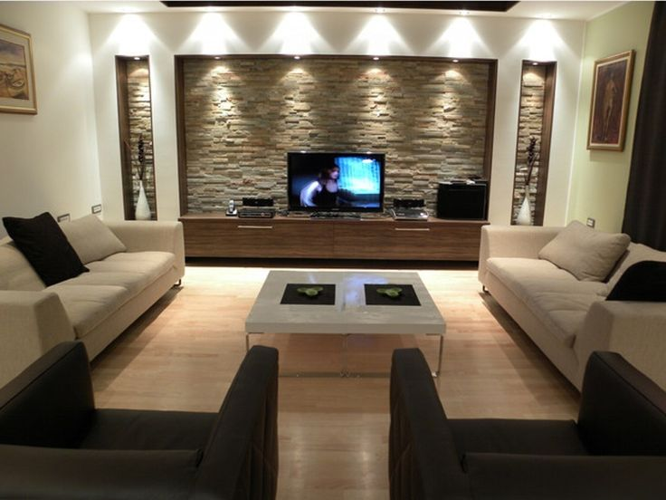 15 modern TV wall elements for your living room