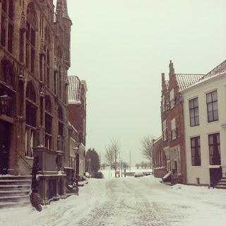 #Veere #lovezeeland #winter #sneeuw #snow