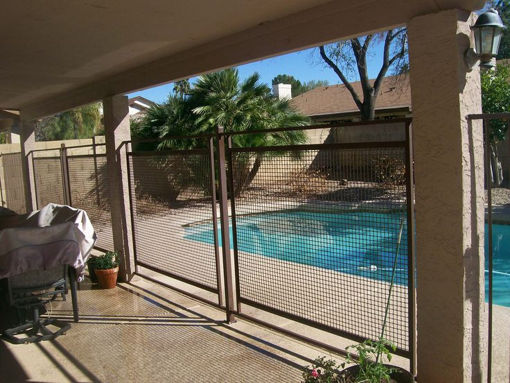 102 best images about pool fences on pinterest sandstone paving pool fence and metal fences - Swimming pool fencing options consider ...
