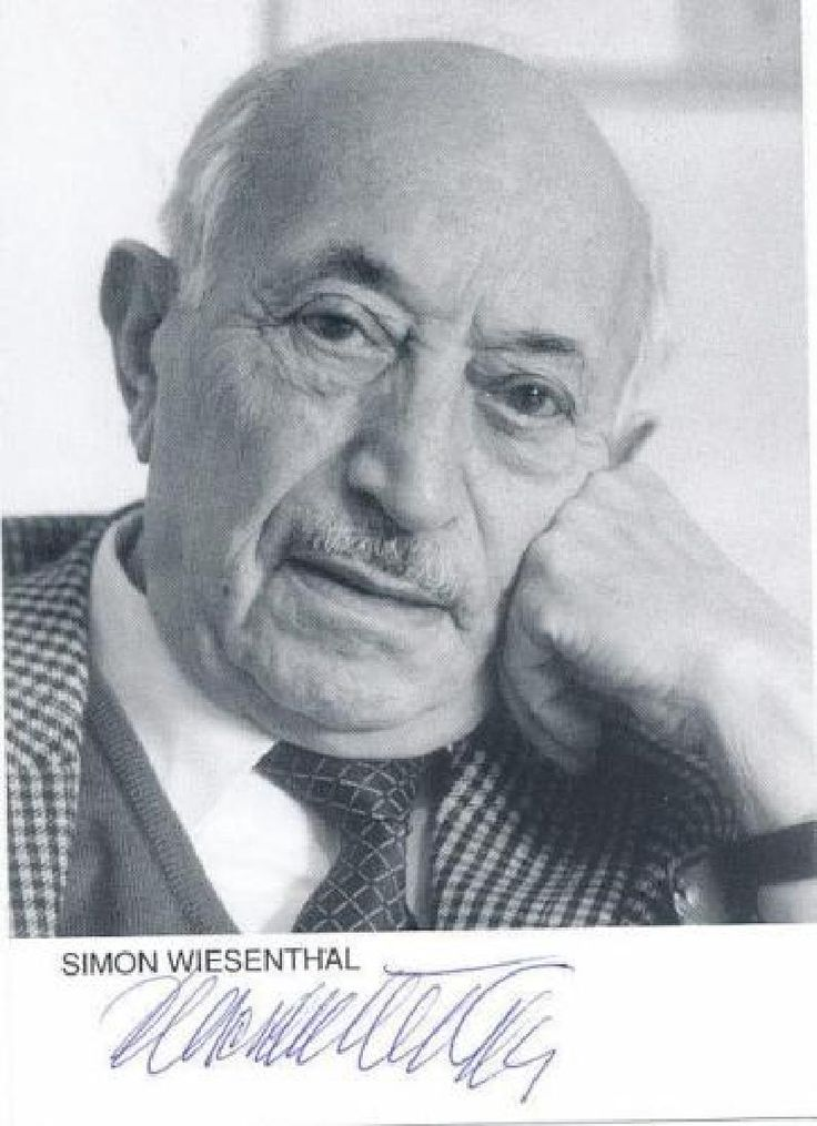 Lot: Nazi Hunter SIMON WIESENTHAL - Photo Signed, Lot Number: 0225, Starting Bid: $50, Auctioneer: The Written Word Autographs, Auction: April 8th & 9th - Autograph Auction, Date: April 8th, 2017 CEST