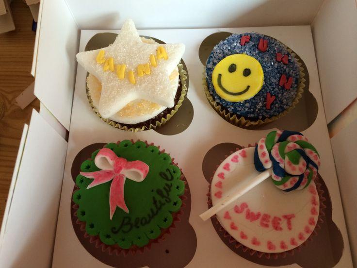 Cupcakes di compleanno 11 anni