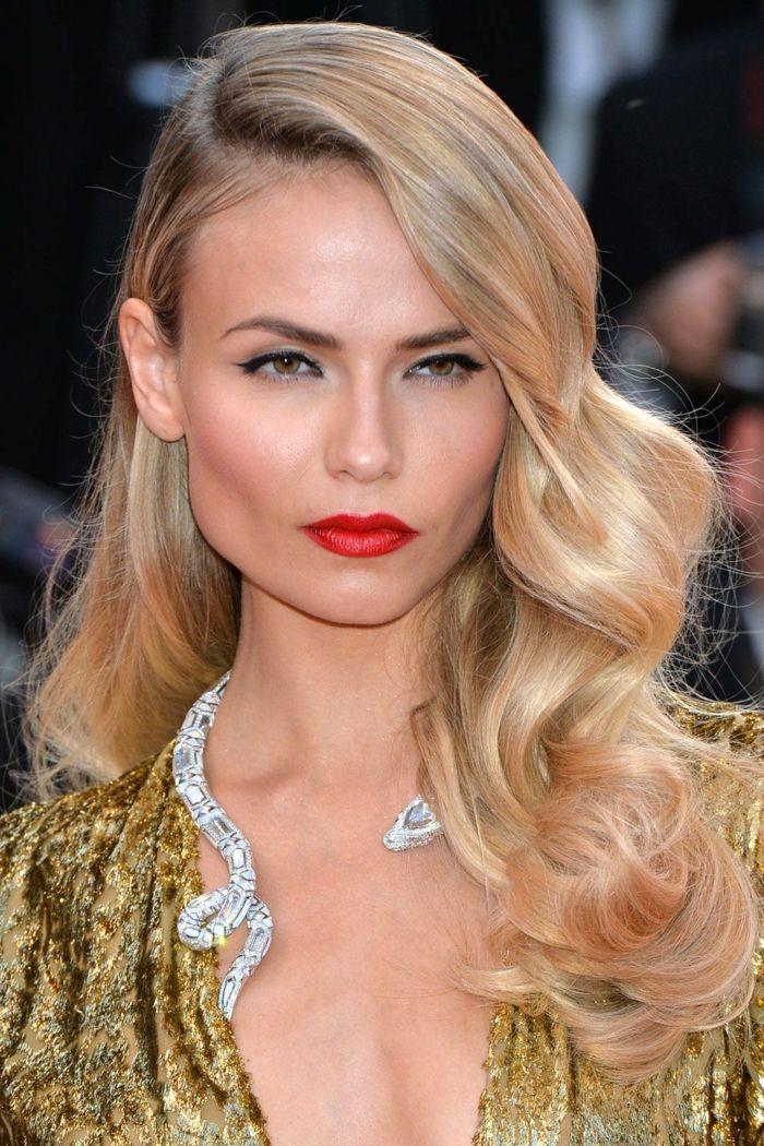 1001 Ideas De Peinados Con Ondas Según Las últimas Tendencias Peinados Peinados Pelo Suelto Largo Pelo Suelto Novia